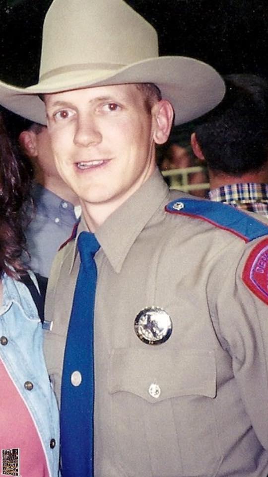 DPS Lt. Steven Schwartz seen here in an early DPS photo