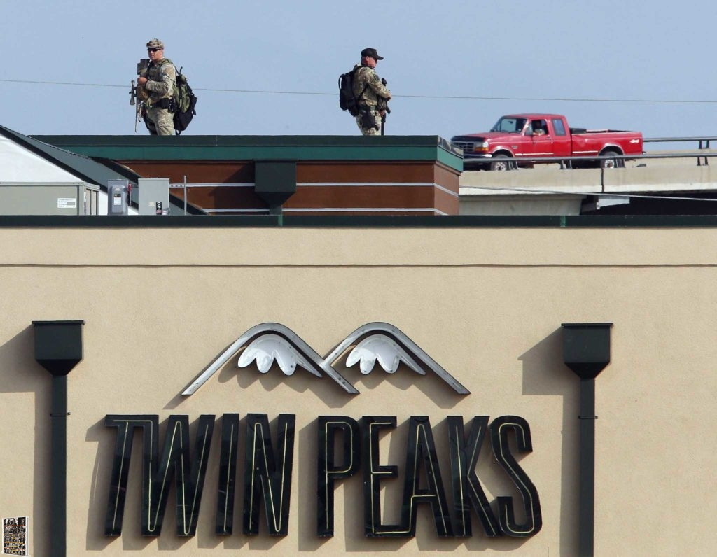 DPS Snipers Twin Peaks roof 5-17-2015