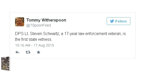 Lt. Steven Schwartz Aug 25th McLennan County Court States Witness