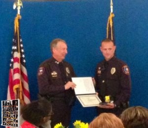 WPD Heath Jackson officer of the year 2014